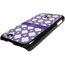 Connected Circles Plastic Samsung Galaxy 4 Phone Case (Personalized)