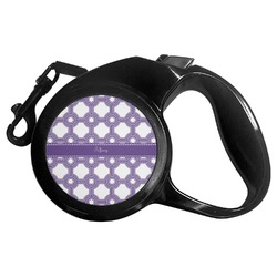 Connected Circles Retractable Dog Leash - Multiple Sizes (Personalized)