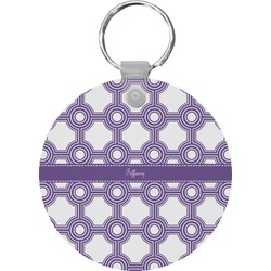 Connected Circles Keychains - FRP (Personalized)