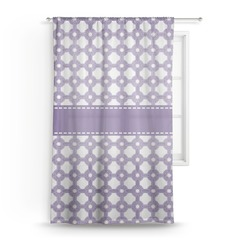 Connected Circles Sheer Curtains (Personalized)