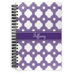Connected Circles Spiral Bound Notebook (Personalized)