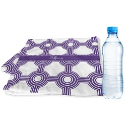 Connected Circles Sports & Fitness Towel (Personalized)