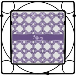 Connected Circles Square Trivet (Personalized)