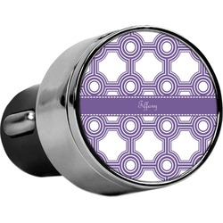 Connected Circles USB Car Charger (Personalized)