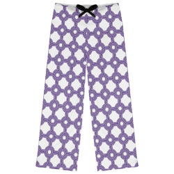 Connected Circles Womens Pajama Pants - M (Personalized)