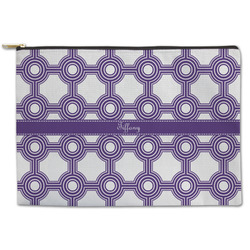 Connected Circles Zipper Pouch (Personalized)
