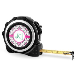 Linked Circles & Diamonds Tape Measure - 16 Ft (Personalized)