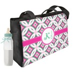 Linked Circles & Diamonds Diaper Bag (Personalized)
