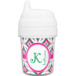 Linked Circles & Diamonds Baby Sippy Cup (Personalized)