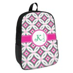 Linked Circles & Diamonds Kids Backpack (Personalized)