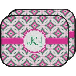 Linked Circles & Diamonds Car Floor Mats (Back Seat) (Personalized)
