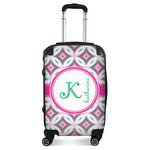 Linked Circles & Diamonds Suitcase (Personalized)