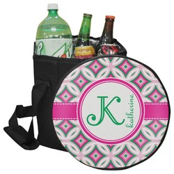 Linked Circles & Diamonds Collapsible Cooler & Seat (Personalized)