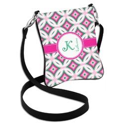 Linked Circles & Diamonds Cross Body Bag - 2 Sizes (Personalized)