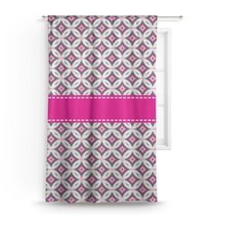 Linked Circles & Diamonds Curtain (Personalized)