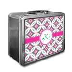 Linked Circles & Diamonds Lunch Box (Personalized)