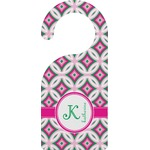 Linked Circles & Diamonds Door Hanger (Personalized)