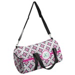 Linked Circles & Diamonds Duffel Bag (Personalized)
