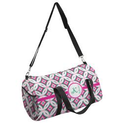 Linked Circles & Diamonds Duffel Bag (Personalized)