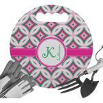 Linked Circles & Diamonds Gardening Knee Cushion (Personalized)