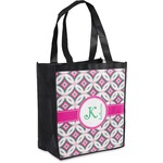 Linked Circles & Diamonds Grocery Bag (Personalized)
