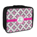 Linked Circles & Diamonds Insulated Lunch Bag (Personalized)