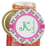 Linked Circles & Diamonds Jar Opener (Personalized)