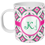 Linked Circles & Diamonds Plastic Kids Mug (Personalized)
