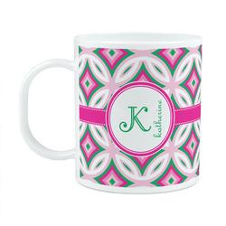 Linked Circles & Diamonds Plastic Kids Mug (Personalized)