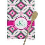 Linked Circles & Diamonds Kitchen Towel - Full Print (Personalized)