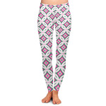 Linked Circles & Diamonds Ladies Leggings (Personalized)