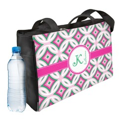Linked Circles & Diamonds Ladies Workout Bag (Personalized)