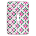 Linked Circles & Diamonds Light Switch Covers (Personalized)