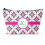 Linked Circles & Diamonds Makeup Bags (Personalized)