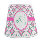 Linked Circles & Diamonds Empire Lamp Shade (Personalized)