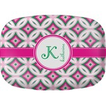 Linked Circles & Diamonds Melamine Platter (Personalized)