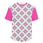 Linked Circles & Diamonds Men's Crew T-Shirt (Personalized)
