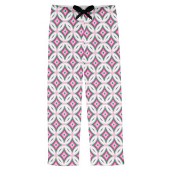 Linked Circles & Diamonds Mens Pajama Pants (Personalized)