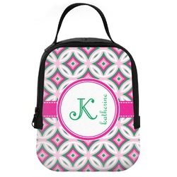 Linked Circles & Diamonds Neoprene Lunch Tote (Personalized)