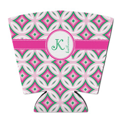 Linked Circles & Diamonds Party Cup Sleeve (Personalized)