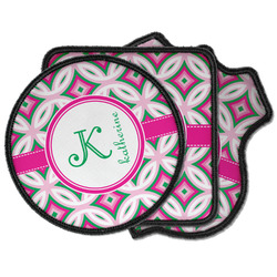 Linked Circles & Diamonds Iron on Patches (Personalized)