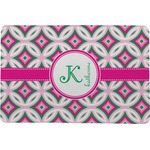Linked Circles & Diamonds Comfort Mat (Personalized)