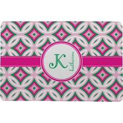"Linked Circles & Diamonds Comfort Mat - 24""x36"" (Personalized)"