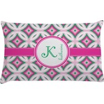 Linked Circles & Diamonds Pillow Case (Personalized)