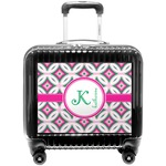 Linked Circles & Diamonds Pilot / Flight Suitcase (Personalized)