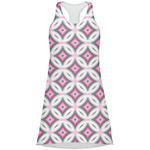 Linked Circles & Diamonds Racerback Dress (Personalized)