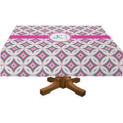 Linked Circles & Diamonds Tablecloth (Personalized)