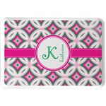 Linked Circles & Diamonds Serving Tray (Personalized)