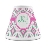 Linked Circles & Diamonds Chandelier Lamp Shade (Personalized)