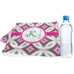Linked Circles & Diamonds Sports & Fitness Towel (Personalized)